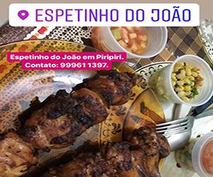 Banner lateral interna posição 4 espetinho do João