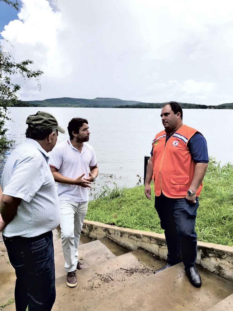 Deputado estadual Marden Menezes em Piripiri