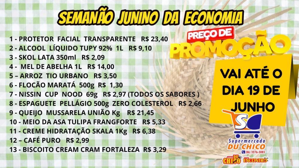 Ofertas do Semanão da Economia do Supermercado Du Chico