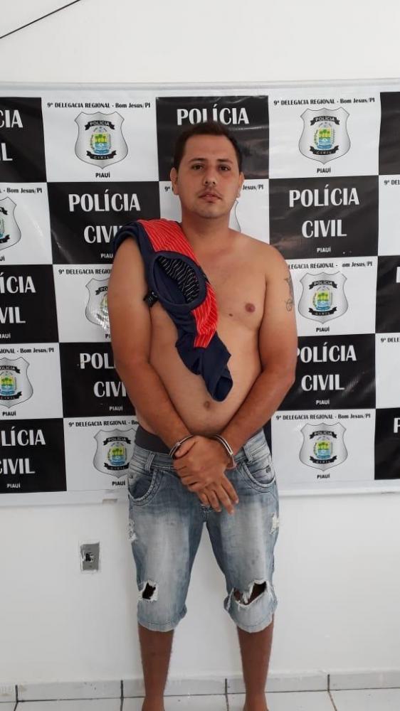 Polícia Civil de Bom Jesus prende o maior traficante de Redenção do Gurguéia