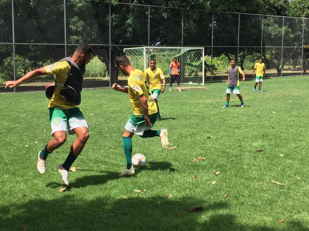 Jogadores de Picos na AABB de Piripiri