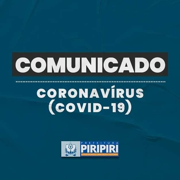 Prefeitura de Piripiri suspende atividades por 15 dias