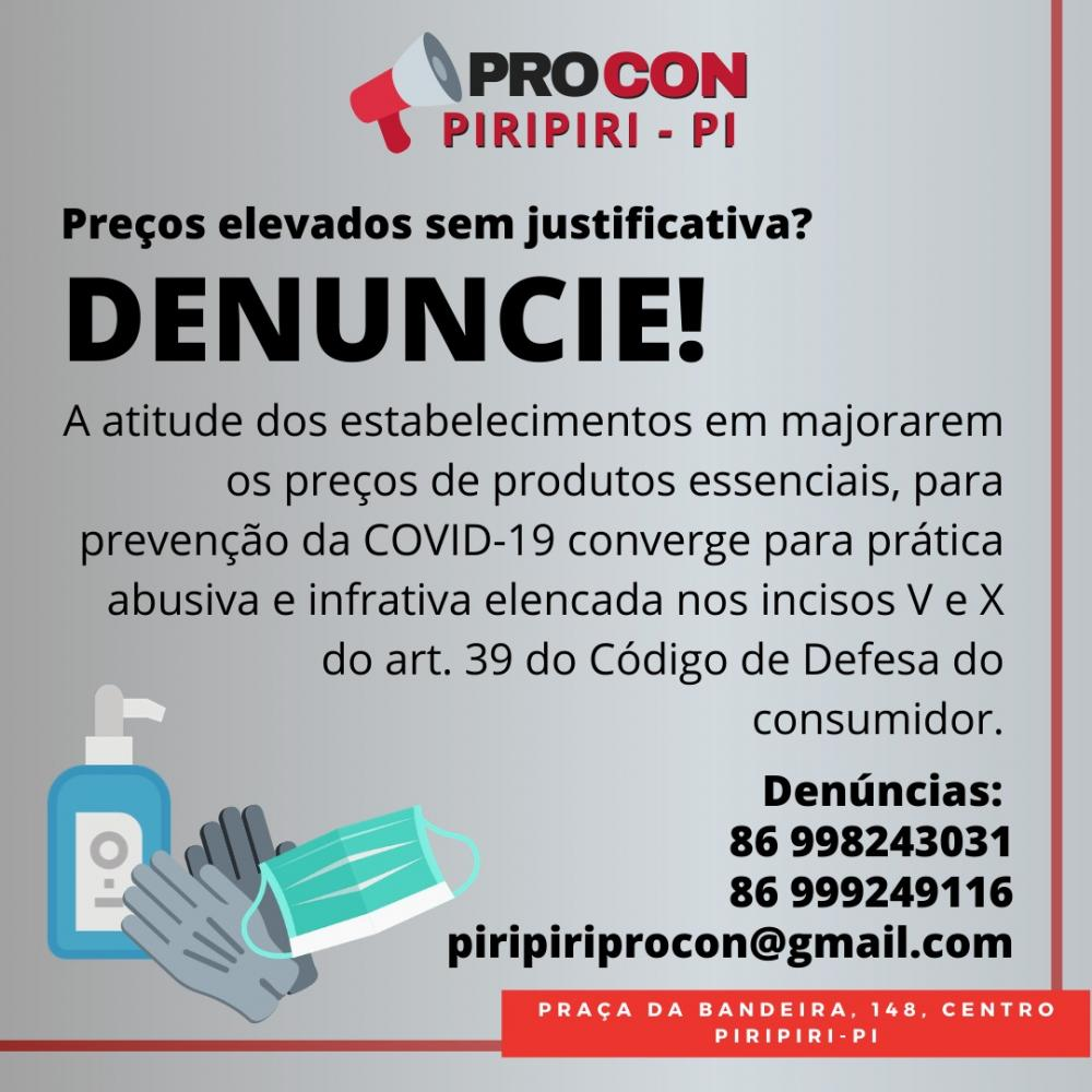 Comunicado do PROCON